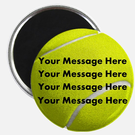 Personalize It, Tennis Ball Magnets