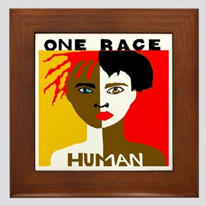 Anti-Racism Framed Tile