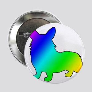 "Rainbow Corgis 2.25"" Button (10 pack)"