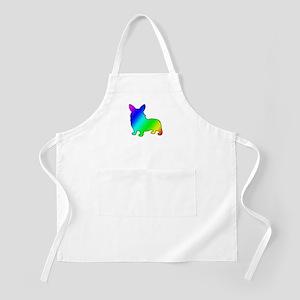 Rainbow Corgis Apron