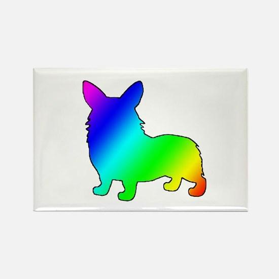 Rainbow Corgis Magnets