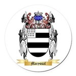 Maryssal Round Car Magnet