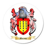 Maryon Round Car Magnet