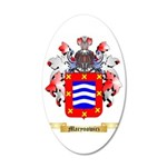 Marynowicz 35x21 Oval Wall Decal