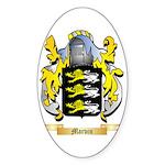Marvin Sticker (Oval 10 pk)