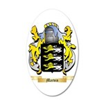 Marvin 35x21 Oval Wall Decal