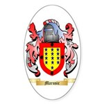 Marusic Sticker (Oval 50 pk)