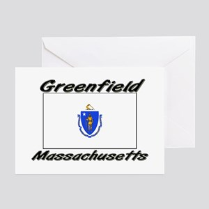 Greenfield Massachusetts Greeting Cards (Pk of 10)