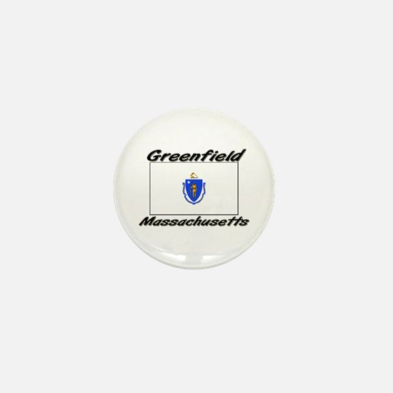 Greenfield Massachusetts Mini Button