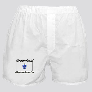 Greenfield Massachusetts Boxer Shorts