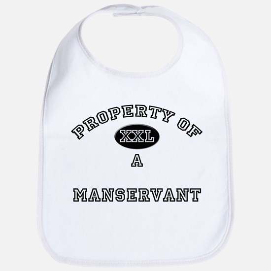 Property of a Manservant Bib