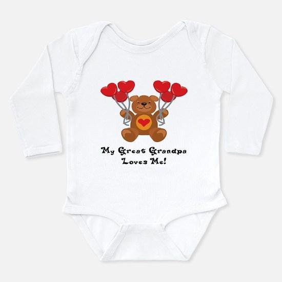 Cute Granddad Long Sleeve Infant Bodysuit