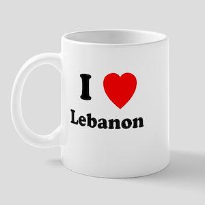 I heart Lebanon Mug