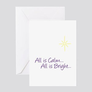 All Is Calm... Greeting Cards