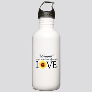 Mommy means Love - Gift Design Water Bottle