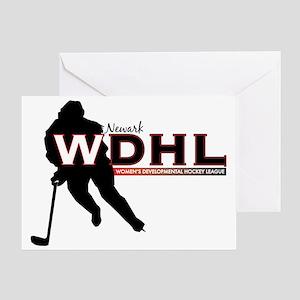 Newark WDHL Logo Greeting Card
