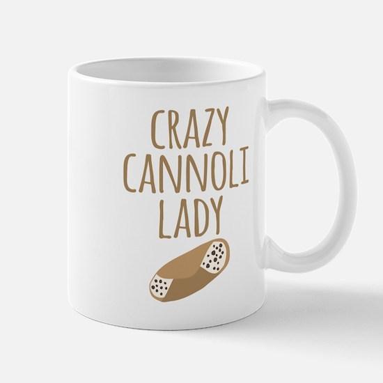 Crazy Cannoli Lady Mugs