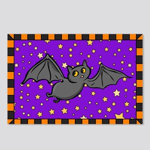 Cute Bat Postcards (Package of 8)