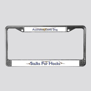"AuCaDogs ""Stalks 4 Hocks"" License Plate Frame"