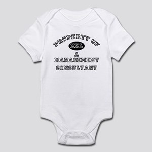 Property of a Management Consultant Infant Bodysui
