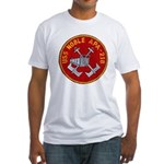 USS NOBLE Fitted T-Shirt