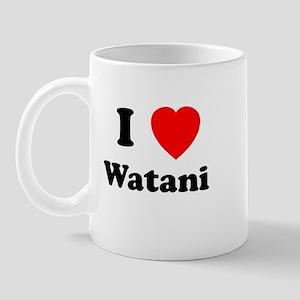 I heart Watani Mug