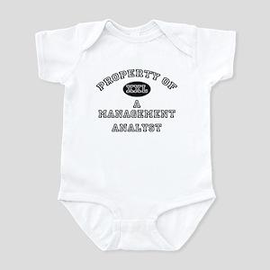 Property of a Management Analyst Infant Bodysuit