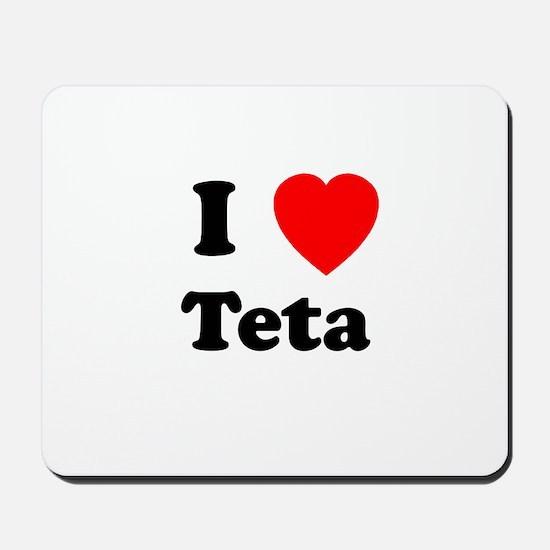 I heart Teta Mousepad