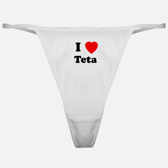 I heart Teta Classic Thong
