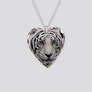 tiger1 Necklace Heart Charm