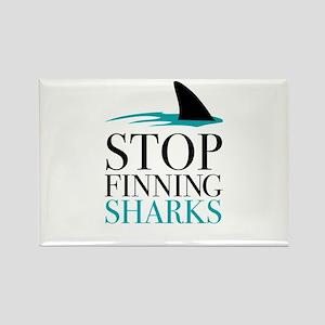 stop finning sharks Magnets