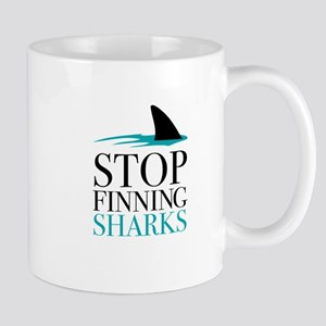 stop finning sharks Mugs