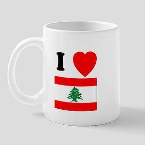 I Heart Flag Mug