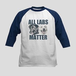 All Labs Matter Kids Baseball Jersey