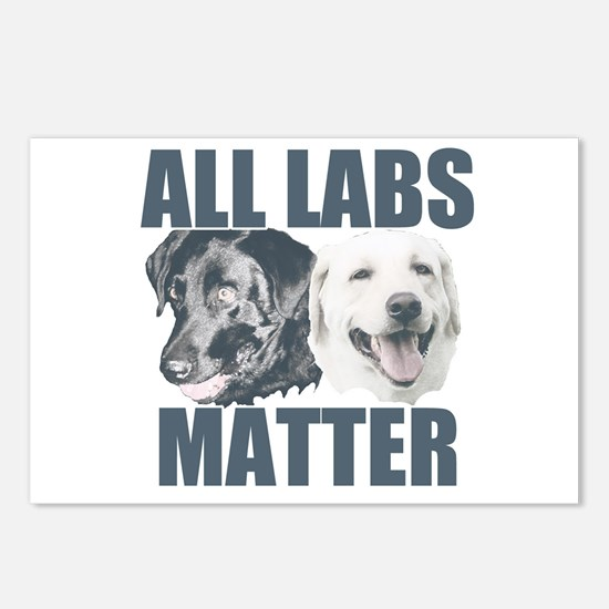 All Labs Matter Postcards (Package of 8)