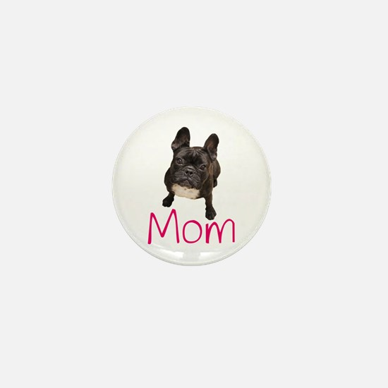 Cool French bull dogs Mini Button