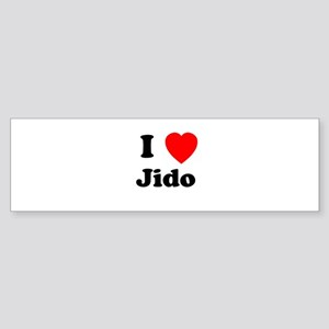 I heart Jido Bumper Sticker
