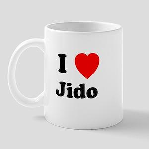 I heart Jido Mug