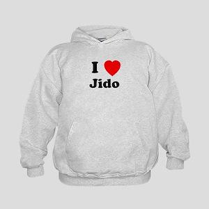 I heart Jido Kids Hoodie