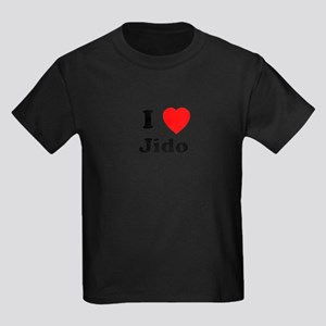 I heart Jido Kids Dark T-Shirt
