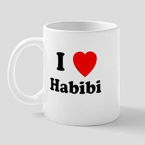 I heart Habibi Mug