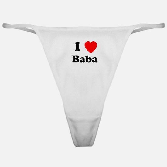 I heart Baba Classic Thong