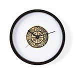 Prosperity Amulet Wall Clock