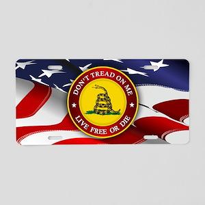 DTOM AF Aluminum License Plate