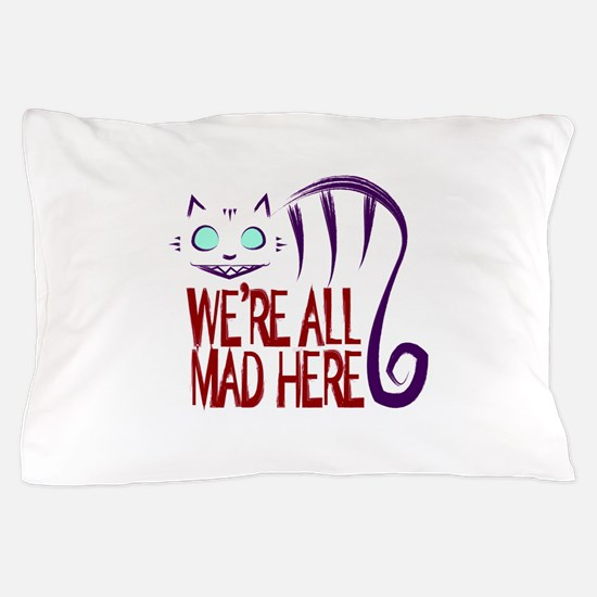 Unique Cheshire cat Pillow Case