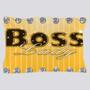 Boss Lady Diamond Life Pillow Case