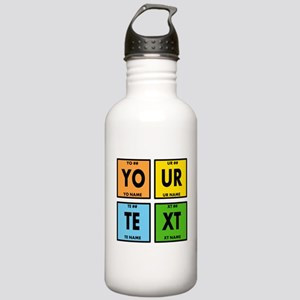 Your Text Periodic Ele Stainless Water Bottle 1.0L