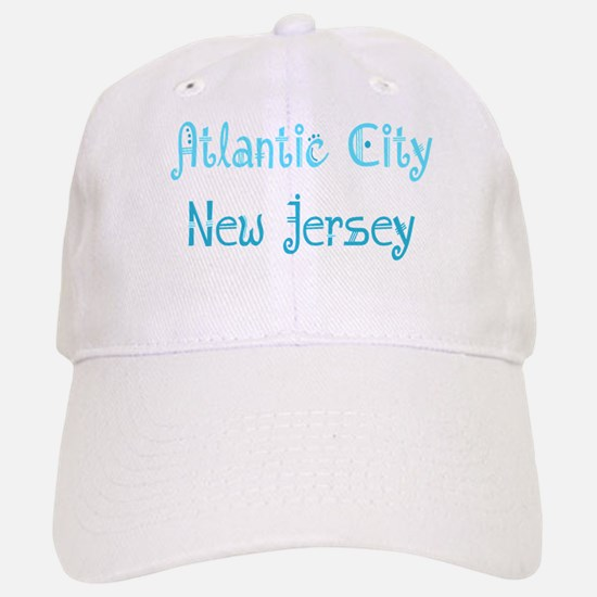 Atlantic City, NJ Baseball Baseball Cap