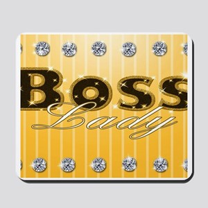 Boss Lady Diamond Life Mousepad