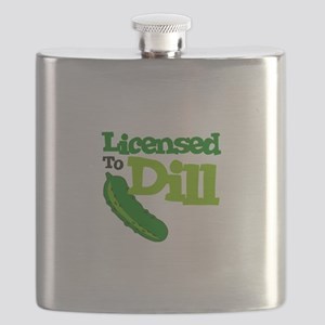 Licensed To Dill Flask